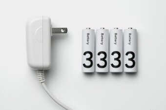 電池&ACアダプター